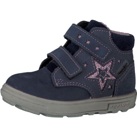 Ricosta ALEXIA Waterproof Leather Ankle Boots (Navy)